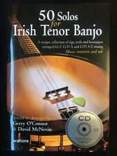 50 Solos for Irish Tenor Banjo with CD (Audio) - Paperback NEW O'Connor Gerry #B