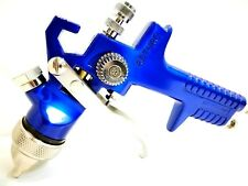 Pistola aerografo verniciatura ASTURO H827 HVLP uggello 1,4+ tazza nylon 600 ml