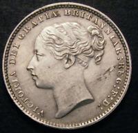 1884 UNC Queen Victoria Silver Shilling LCGS Error Coin CGS