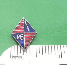 RENAULT R 8 R8 emblem  - hat pin , lapel pin , tie tac , hatpin GIFT BOXED