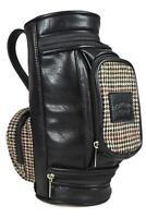 Mens Wash Bag - GOLF BAG - Travel Accessories Gift Classic - Portland Tweed