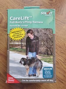 NEW Solvit CareLift FULL BODY Medium Dog Lifting Harness 35-70 lbs item no.62366