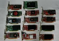 LOT OF 14 Video Cards Mixed Brands / Profiles