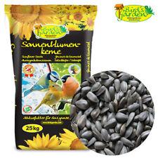 25 kg Sonnenblumenkerne schwarz Wildvogelfutter Vogelfutter Streufutter 2020 HK1