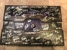 Developers Signed StarCraft II: 2 Heart of the Swarm Collector's Edition