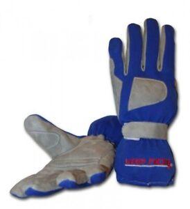keep-racing® Handschuhe GRIP, für Kart- & Motorsport, blau, Größe 1 - 12