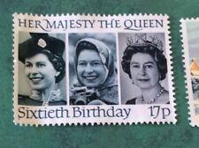 Francobolli europei usati blocchetto da 1 francobollo