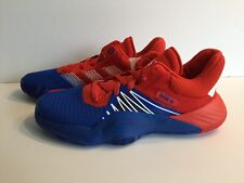 Adidas D.O.N. Issue #1 J Spider Man Basketball Shoes Sneakers Red Blue Youth 6