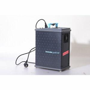 Broncolor Grafit A4 Generator für Studio Blitzköpfe - Mit Funk-Slave-Empfänger