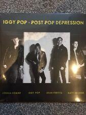 IGGY POP - POST POP DEPRESSION VINYL LP - NEW & SEALED