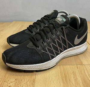 Nike Air Zoom Pegasus 32 H2O Repel Running Shoes Size UK 6 Black