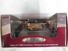 ERTL 1/64 CASE IH 7088 AUTHENTICS #1 GOLD PLATED CHASE FARM TOY COMBINE RARE!!