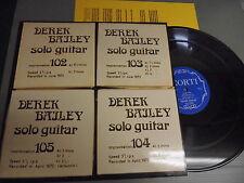 DEREK BAILEY Incus Taps 220GRM LP