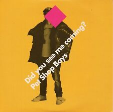 """PET SHOP BOYS """"DID YOU SEE ME COMING?"""" CD SINGLE / TENNANT - LOWE - NEW NOT SEAL"""