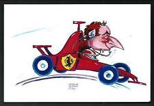 Jean Todt : caricatura di Prosdocimi - cartolina