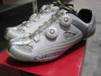 New S-Works Road Bike Specialized Shoes White/Grey NIB