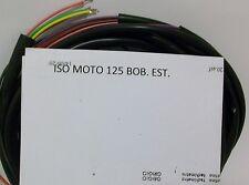 IMPIANTO ELETTRICO ELECTRICAL WIRING MOTO ISO 125 BOBINA ESTERNA CON SCHEMA