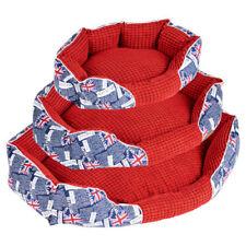 Corbeilles/panier/lit rouges pour chien