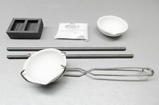 Jewelry Melting Kit Supplies to Melt Pour Precious Metals Dust Scrap Make Bars