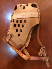 Ray Allen Leather Dog Muzzle Large