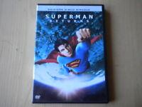 Superman returns Bryan Singer Brandon Routh, Kevin Spacey DVD 1996 azione