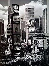"""Times Square"", digital print from B&W photo, 16x12 image"