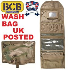 BCB WASH BAG KIT MULTICAM MTP POUCH LARGE HUNG UP + MIRROR