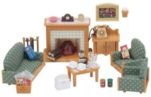 Calico Critters Deluxe Living Room Set NEW