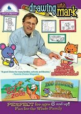 Drawing With Mark: Let's Go To The Zoo / Zoo [New DVD]