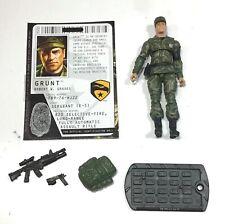 Gi Joe Cobra rise roc toys r us tru grunt figure  loose complete 2009