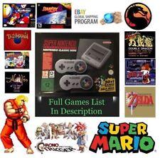 OVP SNES Mini Super Nintendo Klassiker Konsole 🔥 400 Spiele! NEU & Schnell Lieferung