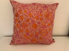 MIMOU Silk Decorative Pillow Cushion Case Flower Pattern  SWEDISH DESIGN