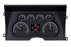 Dakota Digital 88-94 Chevy GMC C/K 1500 2500 Truck Gauges Black HDX-88C-PU-K