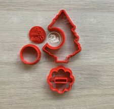 Albero Christmas Tree 3D Buon Natale Formine Biscotti Cookie Cutter