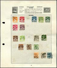 Czechoslovakia Album Page Of Stamps #V4646