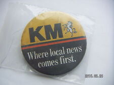 KM WHERE LOCAL NEWS COMES FIRST PICTURE BADGE