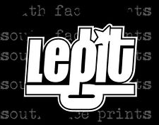 legit rockstar_sick euro JDM race drift stance Decal Sticker