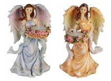 Set 2 Stk. Engel Deko Figur Teelichthalter Elfen Feen Fairy Fantasy Dekoration