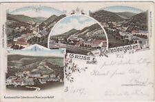 75066/23- Litho Schwidernoch Gruss aus Kaltenleutgeben Bezirk Mölding1897