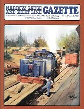 Narrow Gauge Gazette Nov.2010 Telluride Depot RGS Juanita Colorado Santa Cruz