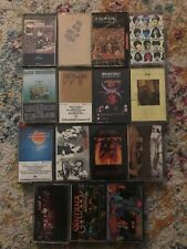 15 Cassette Tapes -  Santana The Who Rolling Stones 70s 80s 90s