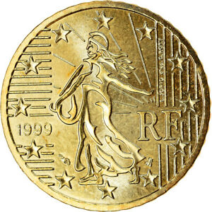 [#767275] France, 50 Euro Cent, 1999, FDC, Laiton, KM:1287