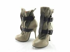 Vivienne Westwood Skyscraper Women's Leather Heel Ankle Boots US Sz 5 Item #767