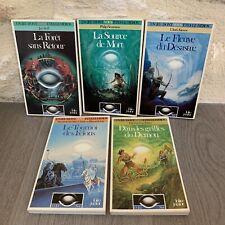 Lot LDVELH L'Oeil Noir Folio Junior livre dont vous etes le Heros