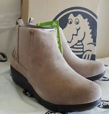CROCS Women's Stretch Sole Wedge Bootie ~ Espresso Color ~Size 6 ♡♡=BRAND NEW=♡♡