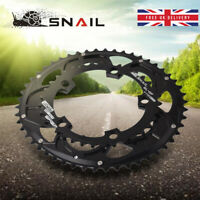 UK SNAIL 110bcd Double Speed MTB Bike Oval 9/10/11s Aluminum Chainring Chainset