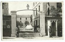 Algeria, Blida, Guardpost at Barracks Gate, c WW2 RP  PPC, Unposted