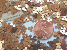 RAREST ANTIQUE SMALL FRENCH GOLD CLOVER SEQUINS
