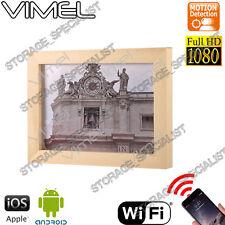 Wireless IP Camera Photo Frame Room Nanny Backup Cam 1080P HD no Spy Hidden