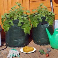 2 x Potato Grow Bag Vegetable Seed Planters Reusable Sack Garden Patio Outdoor